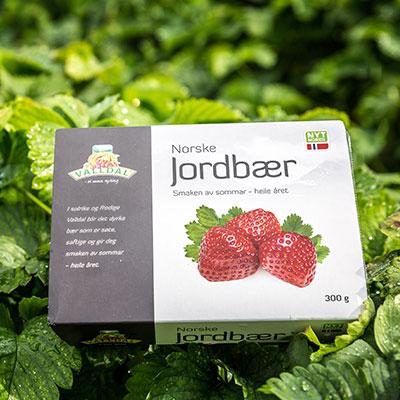 Jordbær 300g fryst